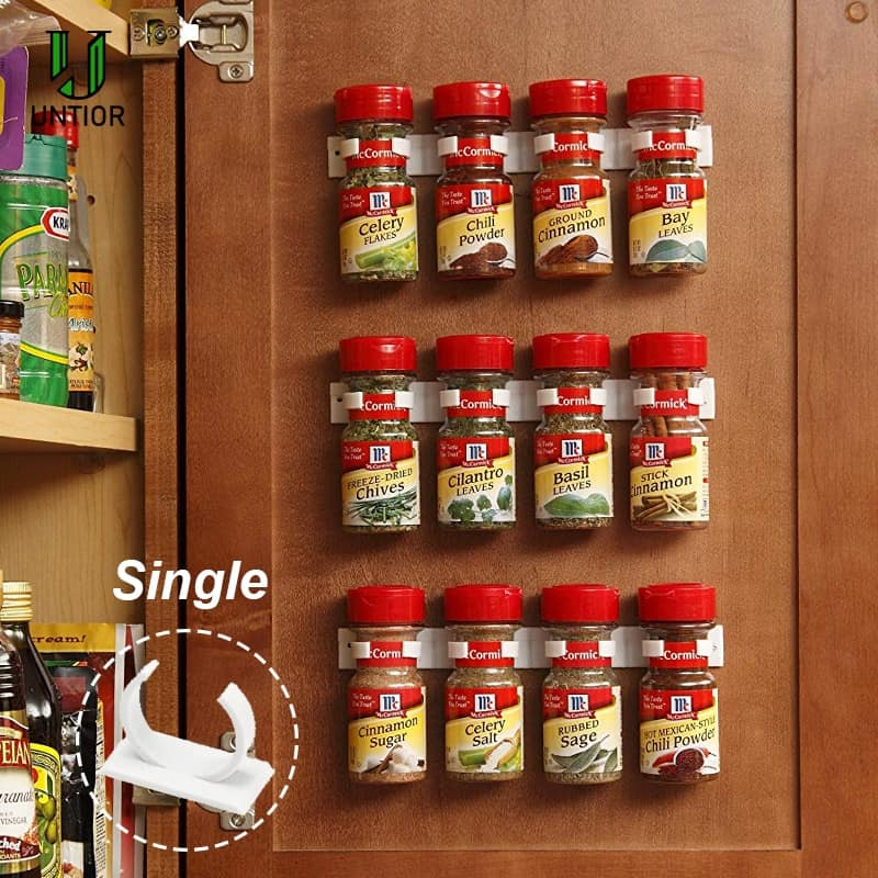 Wall Spice Rack Hanging Organizer
