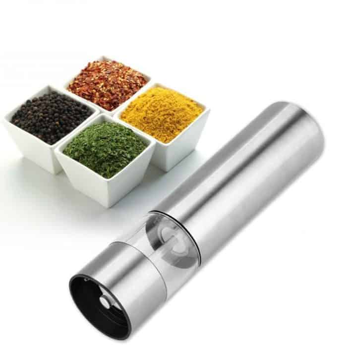 Asian Dishes: Spice Grinder Stainless Kitchen Tool