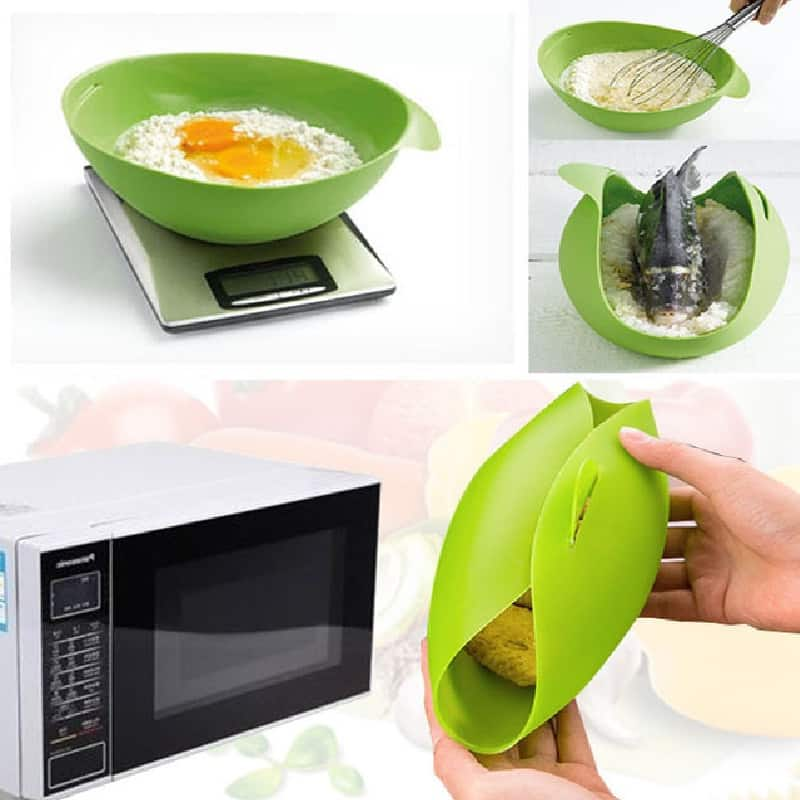 Multi-Functional Silicone Microwave Steamer